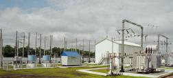 AC traction substation 27.5 kV